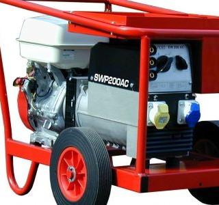Petrol welder 200A